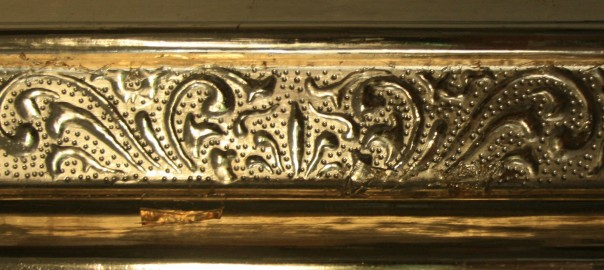 Renaissance, Vergoldung, Blattgold, Verzierungstechnik, Modellrahmen