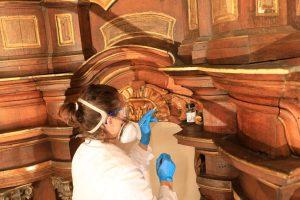 Restaurierung Altar Breisig